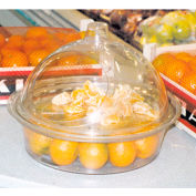 """Clear Dome Replacement For St-01, 12""""L x 12""""W x 6""""H, Plastic, Clear"""