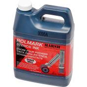 Marsh® Rolmark Stencil Ink, 1 Qt., Black