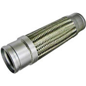 Stainless Steel Braided Hoses With Grooved Nipple 2-1/2 x 14