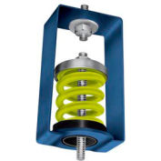 "Spring Vibration Isolation Hanger - 4""L x 4-3/4""W x 7-1/4""H Blue"