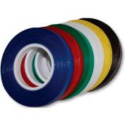 """Magna Visual® Vinyl Chart Tape, 324""""L x 1/4""""W, Yellow"""