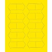 "3/4"" Yellow Magnetic Arrows 20/Pk"