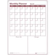 Monthly Dry-Erase Vinyl Magnetic Planner