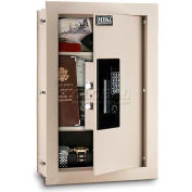 "Mesa Safe Residential Safes Expandable Depth Wall Safe MAWS2113E - 15""W x 3-1/4-6""D x 22-1/8""H"