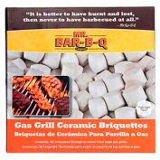 Mr. Bar-B-Q 06000X - Gas Grill Ceramic Briquettes, 60 Pieces, 6 Count