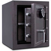 "Mesa Safe Burglary & Fire Safe Cabinet MBF1512E 2-Hr Fire Rating Digital Lock17-1/4""Wx18-3/4""Dx20""H"
