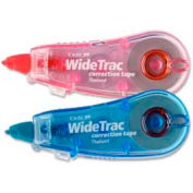 Tombow® WideTrac Correction Tape, 1/3 in x 236 in, White Tape, Assorted Dispensers, 2/Pack