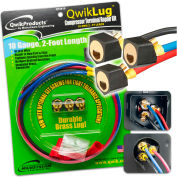 QwikLug™ 3 Terminal Repair Lugs QT2810 - 10 AWG, 2' Leads With Nut