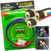 QwikLug™ 3 Terminal Repair Lugs QT2812 - 12AWG, 2' Leads With Nut