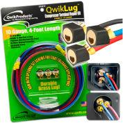 QwikLug™ 3 Terminal Repair Lugs QT2910 - 10 AWG, 4' Leads With Spade