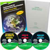 Qwik608™ EPA 608 English Study Kit QT3100 Reference Manual, CD, DVD, Study Guide
