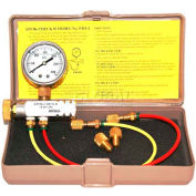 Mitco P115-2M Kwik-Check II Pressure & Cutoff Test Kit, Incl. Fittings, Gasket, Instructions & Case