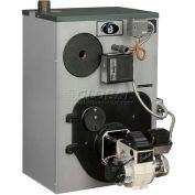 Peerless WBV Series Oil-fired Steam Boiler With Tankless Coil WBV-03SPTL 3 Section 124K BTU