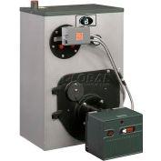 Peerless WBV Series Oil-fired Water Boiler W/Circulator & Tankless Coil WBV-04WPCTL 4 Sect 180K BTU
