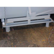Pallet Truck Lifting Legs for Wright Self-Dumping Hoppers - Gray