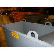 Overhead Crane Lifting Lugs for Wright Self-Dumping Hoppers - Set of 4 - Gray