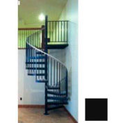"""The Iron Shop, CODE Steel/Smooth, 5'6"""", 12 Risers Only, Black"""