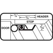 "M-D Universal Door Jamb Weatherstrip Kit, 01958, White, 36"" x 84"""