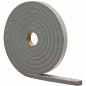 "M-D High Density Foam Tape (Closed Cell), 02295, Gray, 3/8"" x 1/2"" x 10'"