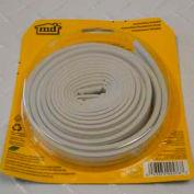 M-D All-Climate EPDM Weatherstrip P Strip, 02576, White, 17'