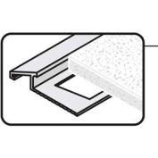 "M-D Tile Edge Reducer 07393, 96""L, Satin Brass Anodized"