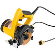 "M-D Marble/Tile Saw, 49046, 4"", Black, Yellow"