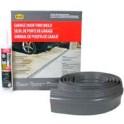 M-D Garage Door Threshold Kit, 50100, Gray, 10' Long for Single Door