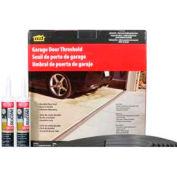 M-D Garage Door Threshold Kit, 50101, Gray, 20' Long for Double Door