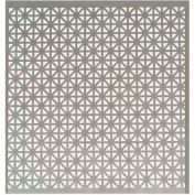 """M-D Aluminum Sheet, Union Jack, 56000, 36""""L X 24""""W X 0.02""""H, Black"""