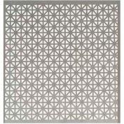 """M-D Aluminum Sheet, Union Jack, 56008, 24""""L X 12""""W X 0.2""""H, Silver"""