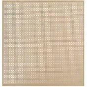 """M-D Aluminum Sheet, Lincane, 56012, 24""""L X 12""""W X 0.2""""H, Albras"""