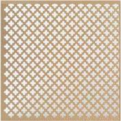 """M-D Aluminum Sheet, Cloverleaf, 57109, 36""""L X 24""""W X 0.2""""H, Albras"""