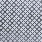 """M-D Aluminum Sheet, Cloverleaf, 57166, 0.02""""L X 36""""W X 36""""H, Silver"""