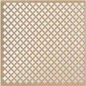 """M-D Aluminum Sheet, Cloverleaf, 57240, 0.2""""L X 36""""W X 36""""H, Albras"""