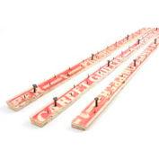 "M-D Carpet Tack Strip, 75302, 48""L, W/California Regulation Nails"