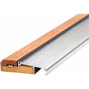"M-D TH393 Adjustable Alum & Hardwood Sill - Inswing, 76281, 72"", Silver"