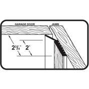 M-D Dual Vinyl Garage Door Seal for Top & Sides, 87726, Brown, 7' Long