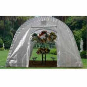 Translucent Greenhouse Round Style 12'W x 24'L x 8'H