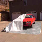 12'x24'x8' Indoor One-Size-Fits-All Car Pocket® White & Gray
