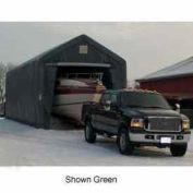 Gray 14'W x 42'L x 15'H Peak  RV/ Boat Storage