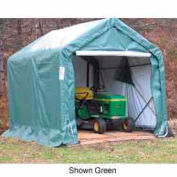 8'x8'x8' Gray Peak Style Quick Shed