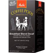 Melitta 75413 - Breakfast Blend Coffee Pods, Decaf, 216 Pods/Case