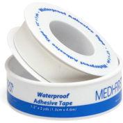 "First Aid Adhesive Tape Roll, 1/2"" W x 5 Yd., 60701 - Pkg Qty 5"