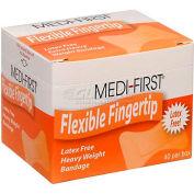Flexible Fingertip Bandage, Extra Heavy Weight, 40/Box
