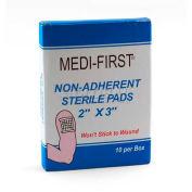 "Non-Adherent Sterile Pads, 2"" x 3"" Pad, 10/Box"