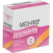 """Flex Strip Sterile Bandage, 3/4"""" x 3"""", 50/Box - Pkg Qty 2"""