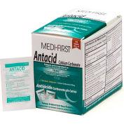 Medi-First® Antacid Packs 2/Pack, 50 Pack/Box, 80233