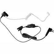 Motorola HKLN4601 1-Wire Surveillance Earpiece with In-line Clip PTT Mic
