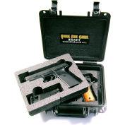 "Quick Fire Multifit™ Dual Pistol Case QF340BK Watertight, 10-11/16""x9-3/4""x4-13/16"" Black"