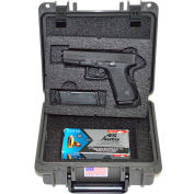 "Quick Fire Multifit™ Pistol Case QF345GR Watertight, 10-11/16""x9-3/4""x4-13/16"" Gray"